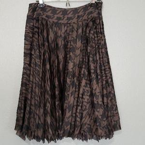 DKNY silk fun flowy skirt